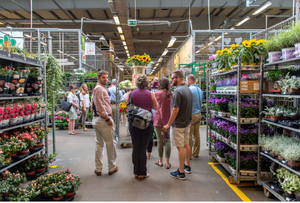 Visiting the wholesale market- photo by Remsburg Photography