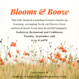 Anchored Roots Farm Flower Workshop