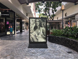 David Yurman Backlit Display
