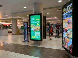 Subway Backlit Display