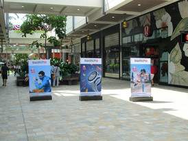 Swatch Standee Displays