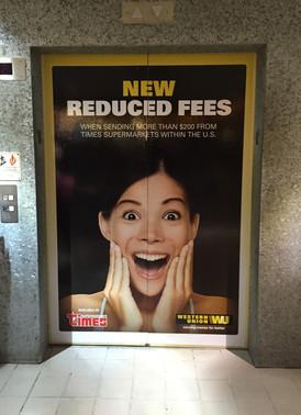 Elevator Wrap (Western Union)