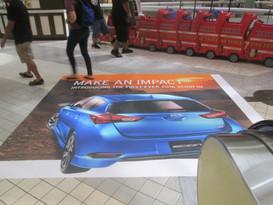 Toyota Servco Floor Graphic