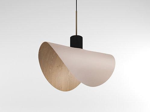 Bark Pendant Lamp powder