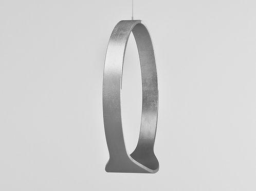 Swing model n.1 indoor exclusive version in silver colour