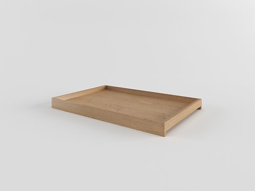 Solid Tray natural oak