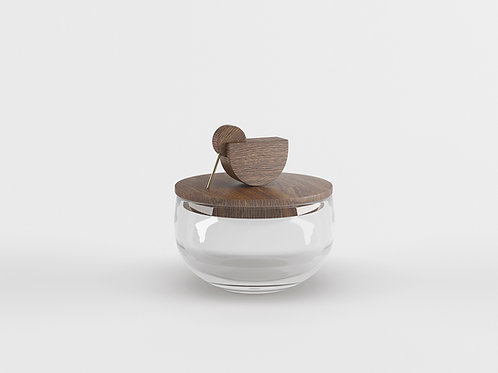 Juba Bowl smoked oak