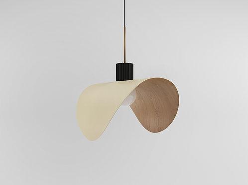 Bark Pendant Lamp pearl