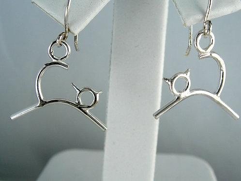 Stickcat Earrings 2