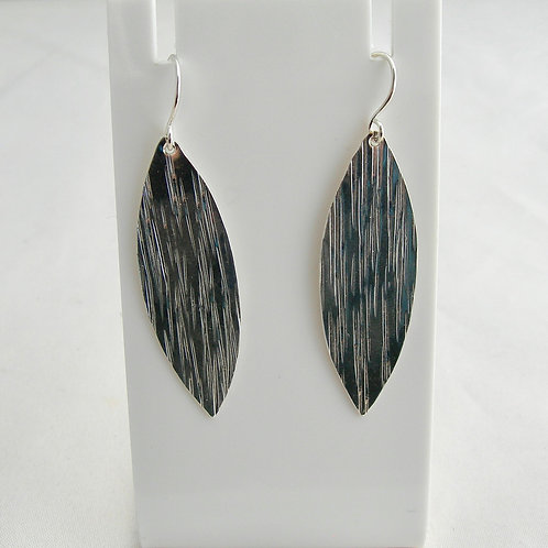 Marquise Textured Earrings
