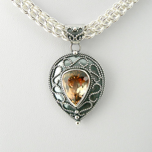 Imperial Topaz Necklace