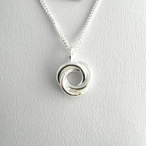 Small Mobius Pendant