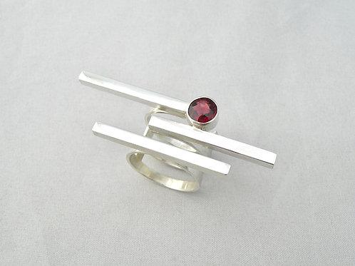 Fancy Garnet Ring