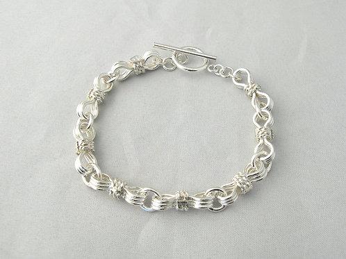 Triple Link Bracelet