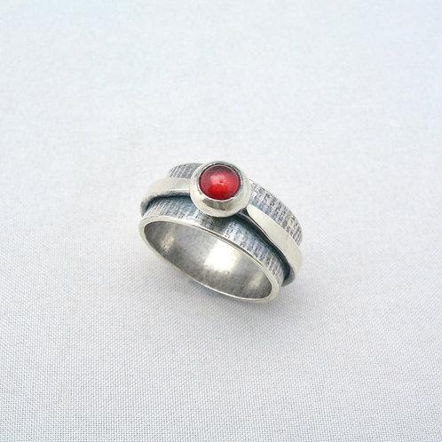 Garnet Cab Ring