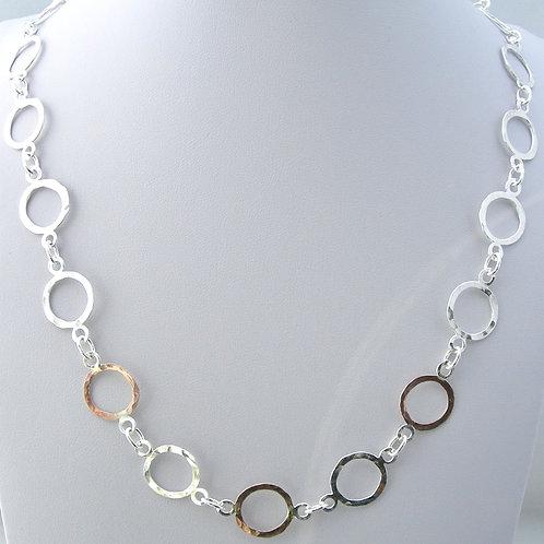 Silver & Gold Handmade Chain