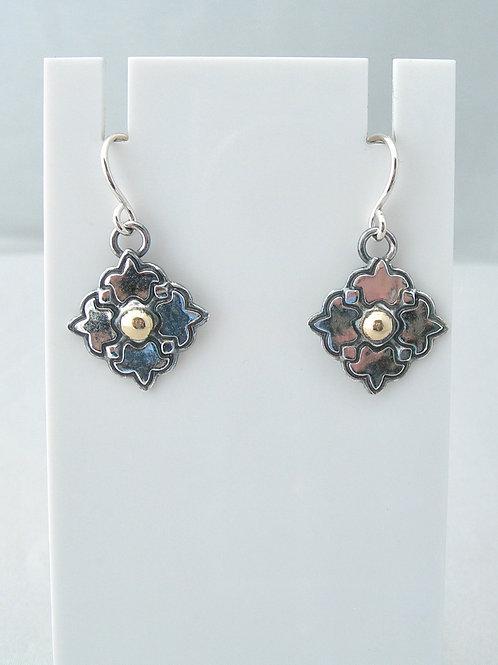 Silver & Gold Earrings