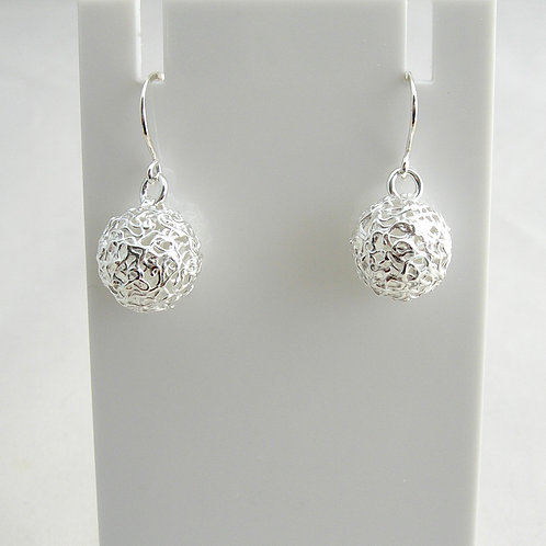 Lacy Ball Earrings