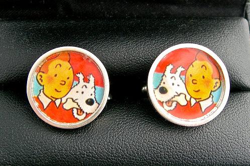 Tintin Cufflinks