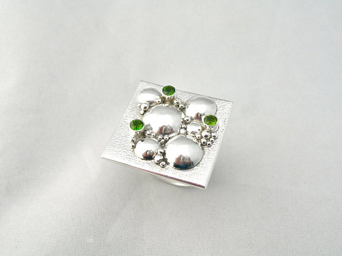 Diopside Bubble Ring