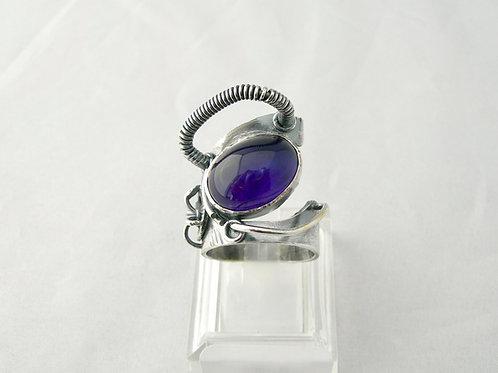 Amethyst 'Borg' Ring