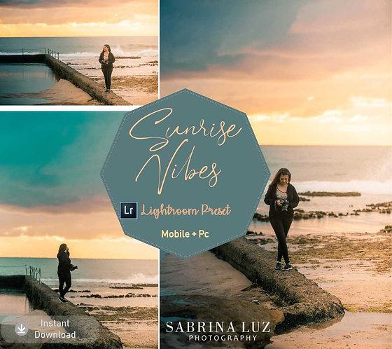 Sunrise Vibes Lightroom Preset - Sabrina Luz collection