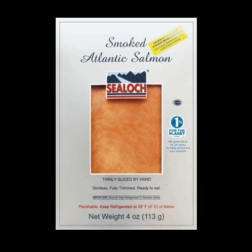 Smoked Salmon with Gravlax Sauce 4 oz