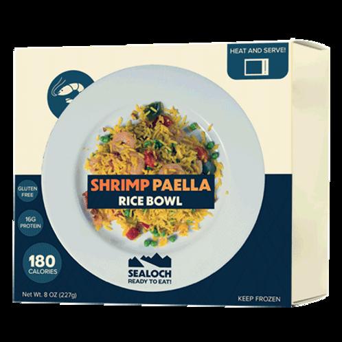 Frozen Shrimp Rice Bowl