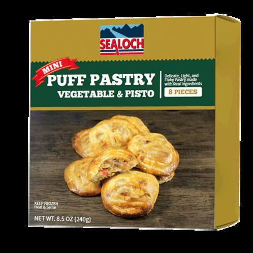 Mini Puff Pastries vegetable&pisto
