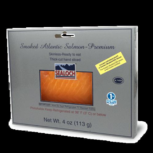 Premium Smoked Atlantic Salmon 4 oz