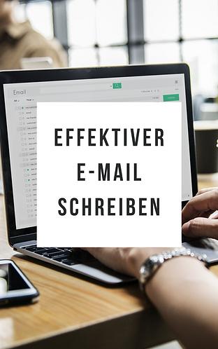 Effektiver E-Mail schreiben