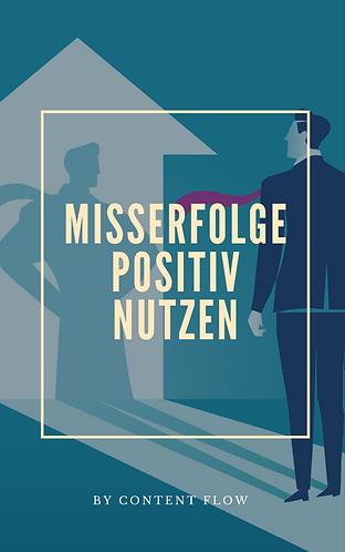 Misserfolge positiv nutzen