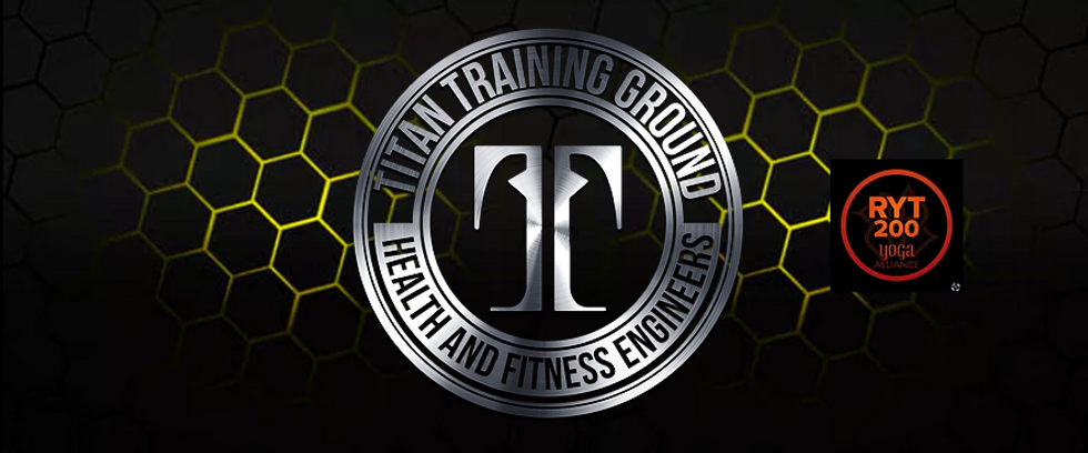 Titan Training Ground Health and Fitness Logo