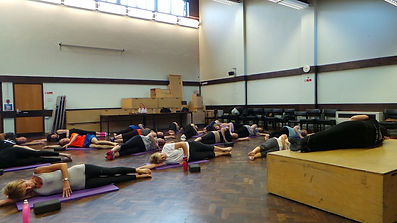 Strood Library Hall HIIT Pilates Stretch Body Tone Medway Kent