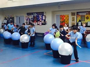Drums Alive for schools in Medway Kent Northfleet Strood Rochester Chatham Gillingham Cuxton Wainscott Cobham Dartford Gravesend