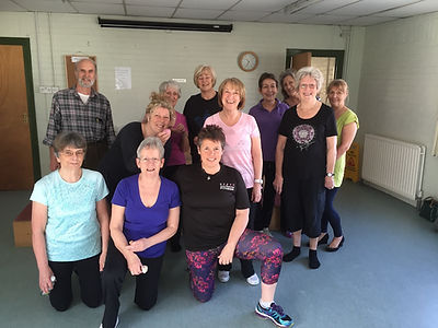 Borstal Village Hall Pilates Stretch Keep Fit Fitness Rochester Medway Strood Kent