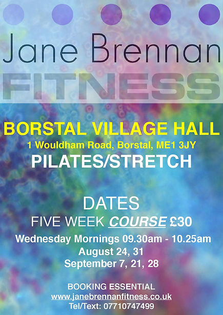 Pilates classes in Borstal Medway Strood Rochester Chatham Cuxton Keep fit course pilates course fitness class pilates fitness