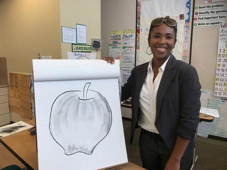 Drawing Class In Session! - ¡Clase de dibujo en sesión!