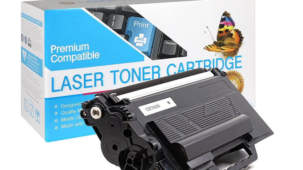 Brother TN890 Ultra High Yield Compatible Toner- Black