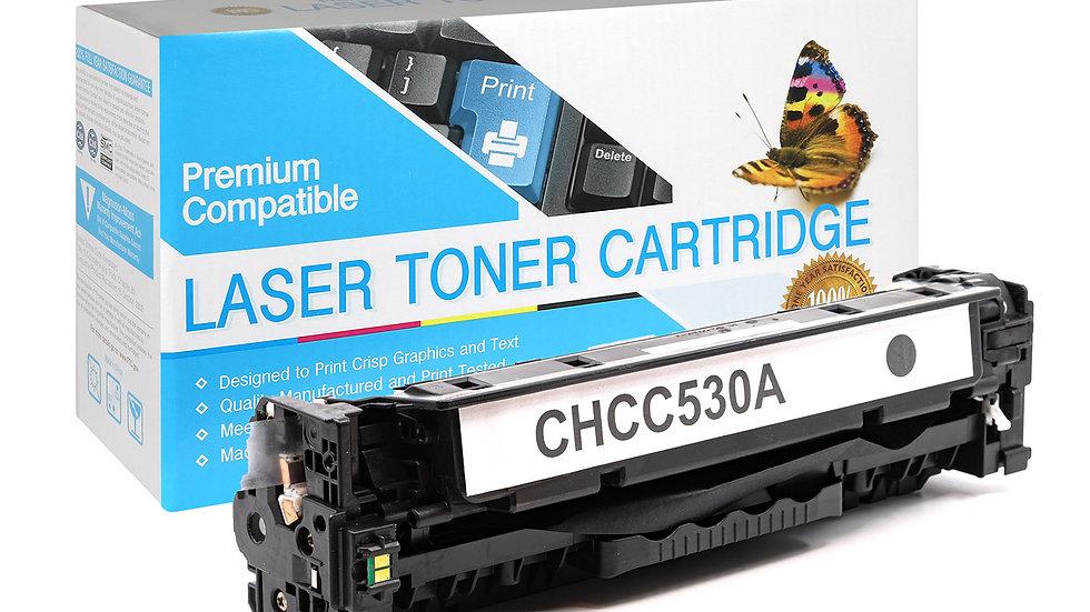 HP CC530A Compatible Black Toner Cartridge