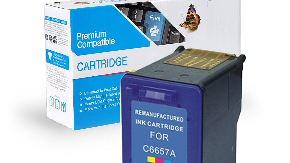 HP Remanufactured Ink Cart C6657 (No. 57)
