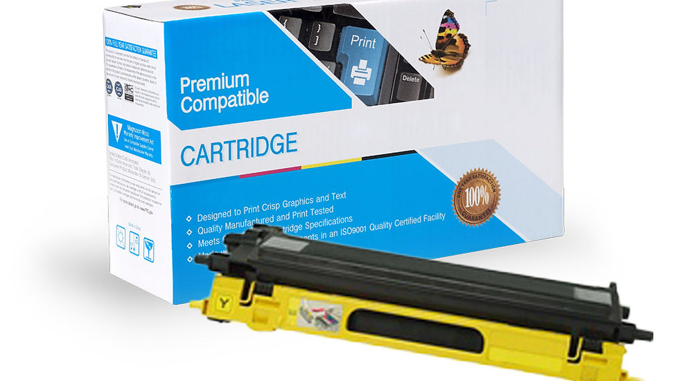 Brother TN115Y Compatible Yellow Toner Cartridge