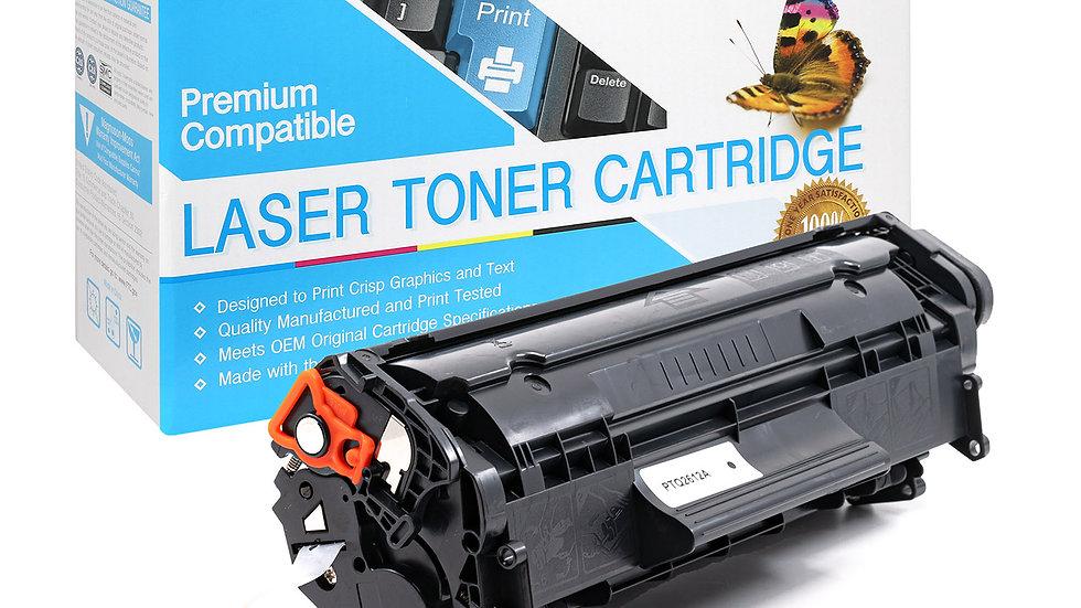 HP Q2612A Canon FX9 10 C104 Compatible Universal Toner- BLK