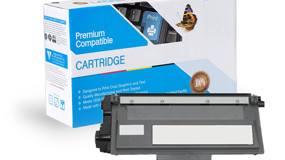Brother TN780 High Yield Compatible Toner- Black