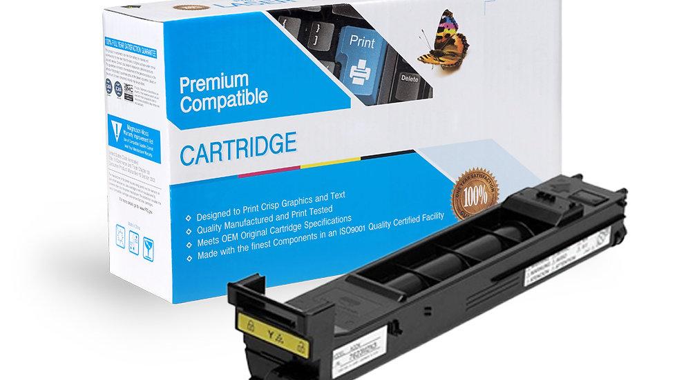 Konica Minolta A0DK232 Compatible Yellow Toner Cartridge