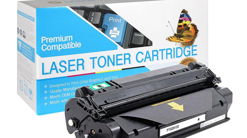 HP Q2613X Hi-Yield Compatible Black Toner Cartridge