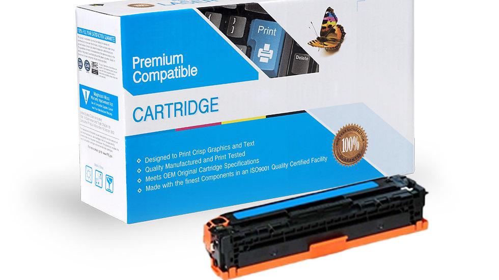 HP Compatible CE341A Cartridge (651A) Cyan