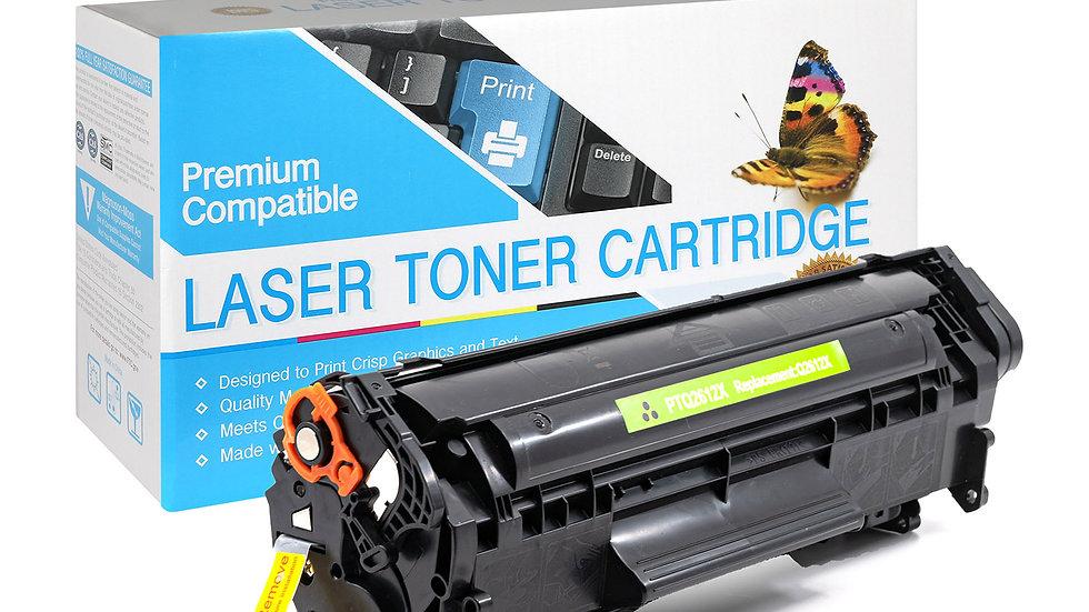 HP Q2612X Compatible High Yield Toner Cartridge- Black