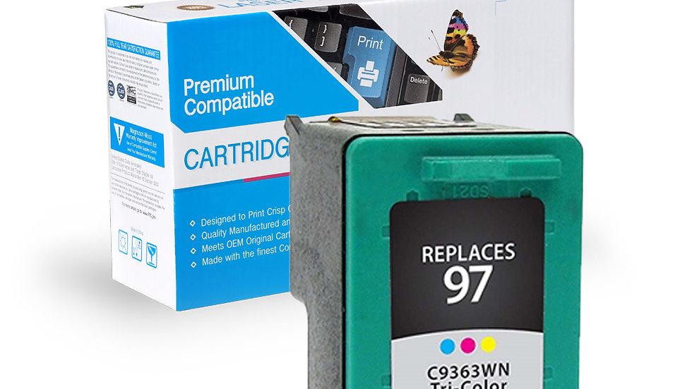 HP Remanufactured Ink Cart C9363W (No. 97)