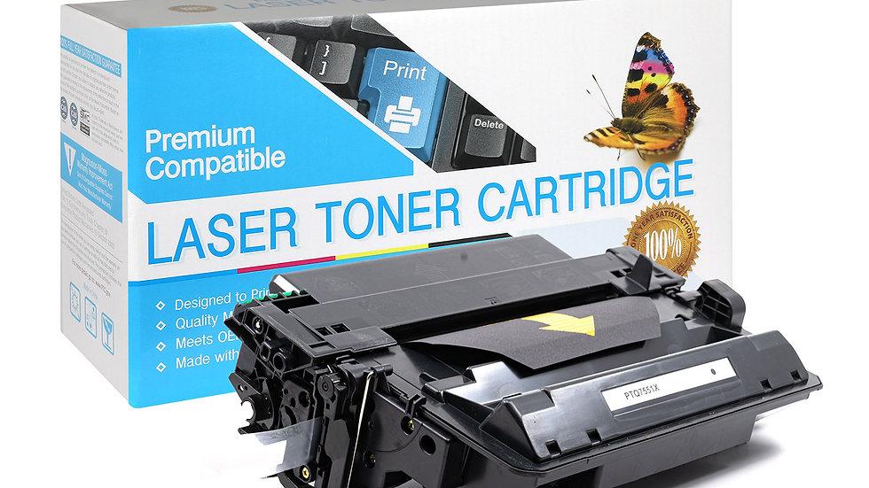 HP Q7551X Hi-Yield Compatible Black Toner Cartridge